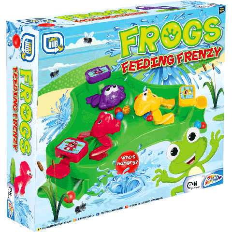 Frogs Feeding Frenzy (Bordspel)