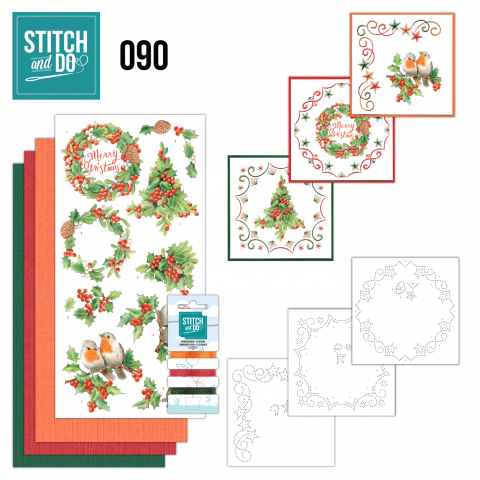 Stitch and do 90 Merry Christmas