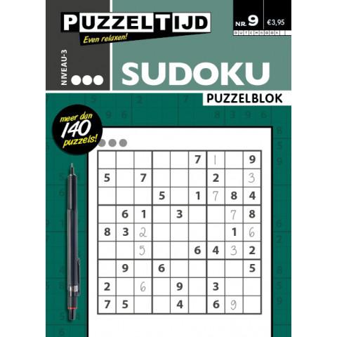 Puzzeltijd sudoku 3 punt 10