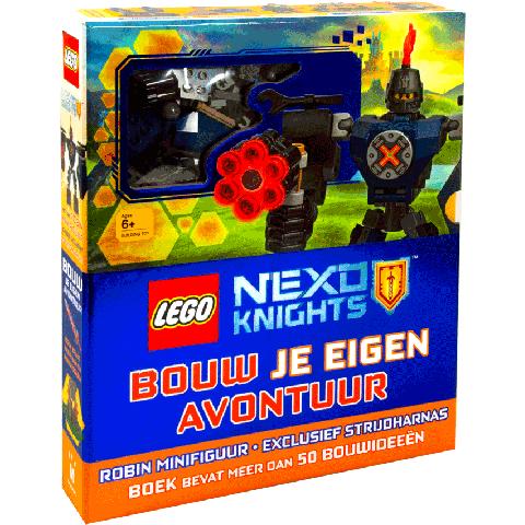 Lego Nexo knights, bouw je eigen avontuur