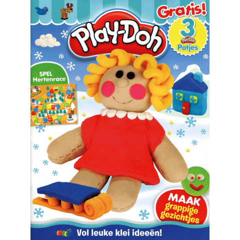 Play-Doh activity 4 + cmc 3 potjes klei