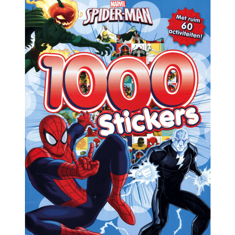 Marvel Spider-Man 1000 stickers
