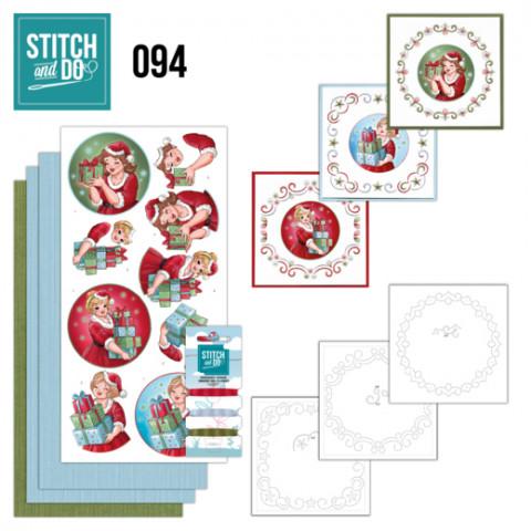 Stitch and Do 94 bubbly girls