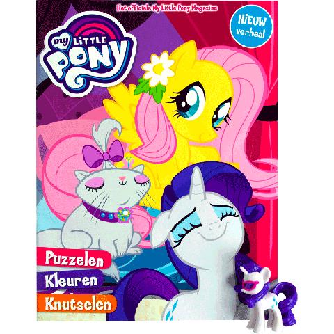 My Little Pony vakantieboek + cadeautje (assorti)