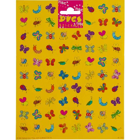 Sticker sheet bugs
