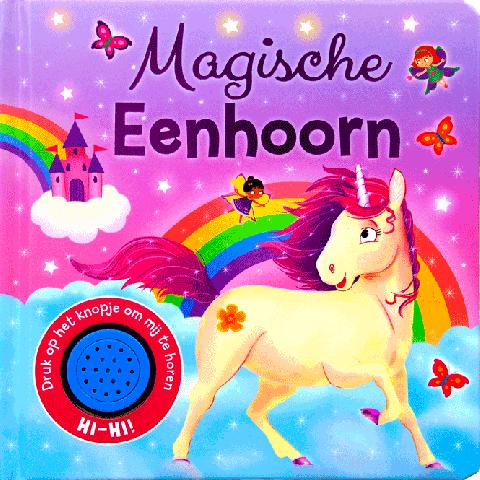 Magische eenhoorn geluidboek