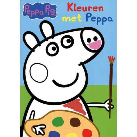 Kleuren met Peppa