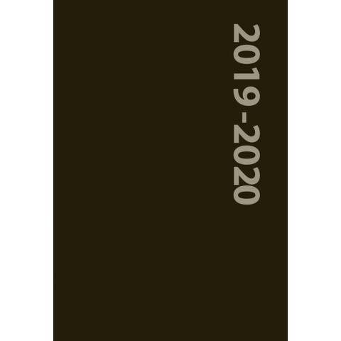 Schoolagenda 2019-2020 Zwart