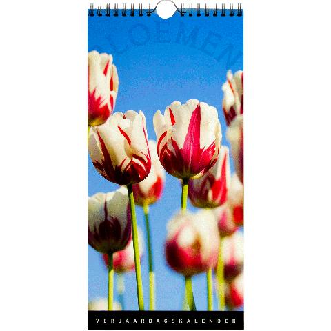 Verjaardagskalender bloemen 2019