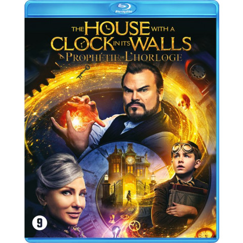 House with a clock in its walls