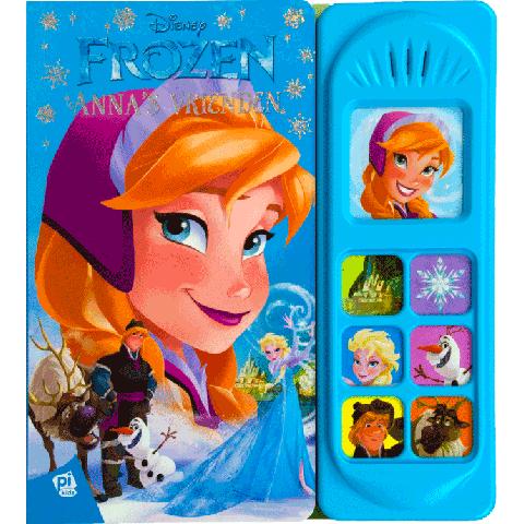 Geluidboek Frozen, Anna's vrienden