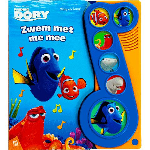 Disney Pixar Finding Dory geluidboek zwem met me mee