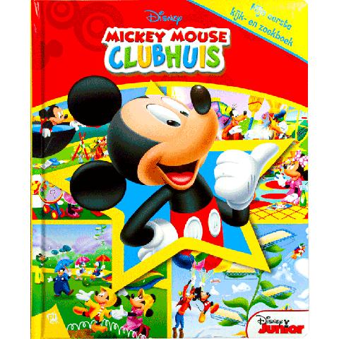 Disney Mickey Mouse Clubhuis Mijn eerste kijk- en zoekboek