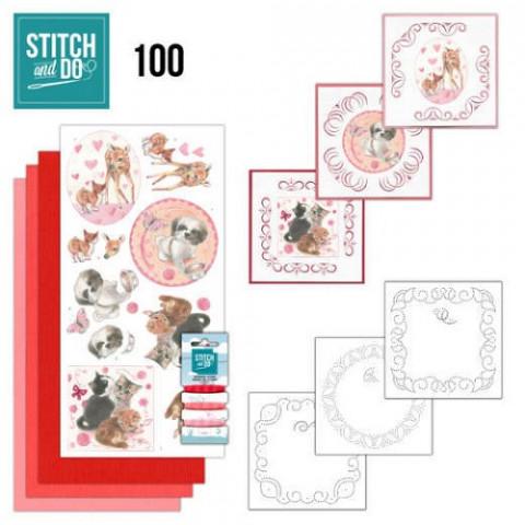 Stitch & Do 100 playful pets