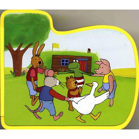 Foamboekje Kikker en zijn vriendjes