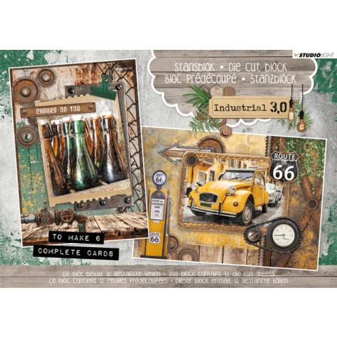Stansblok A5 Industrial 3.0 6 kaarten nr 21