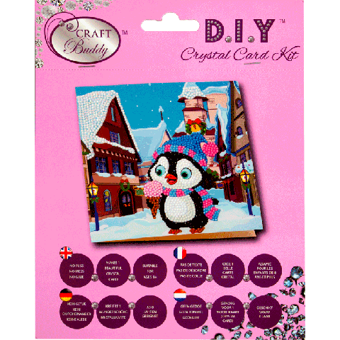 Crystal card kit XM1 Ice cream at the markets 18x18