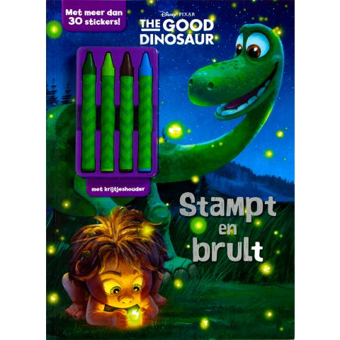 Disney pixar Dino stampt act+krijt