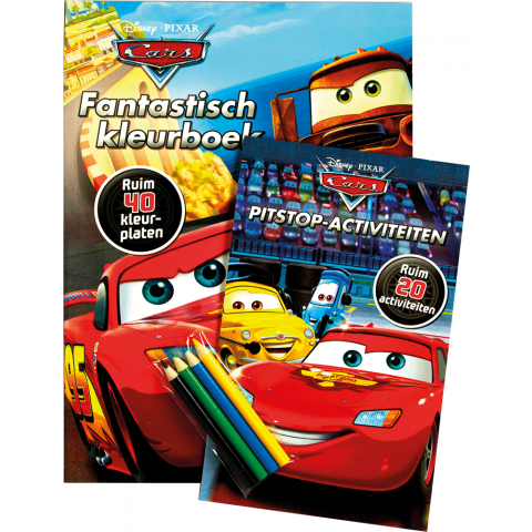 Disney Pixar Cars activity pack