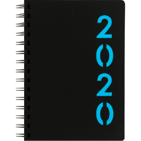 DT Wire-o dagagenda 2020: Lichtblauw (115)