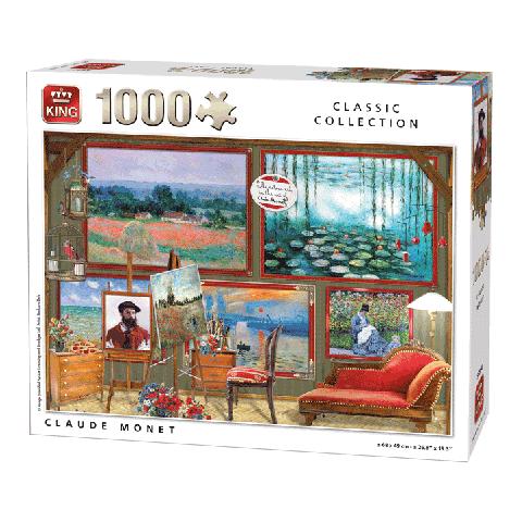 Legpuzzel Claude Monet (Classic Collection) 1000 pcs