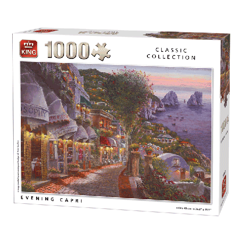 Puzzle Evening Capri (Classic Collection) 1000 pcs