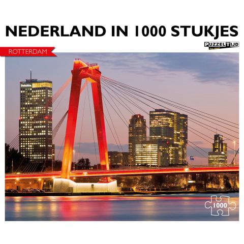 Puzzel Rotterdam Willemsbrug (1000 stukjes)