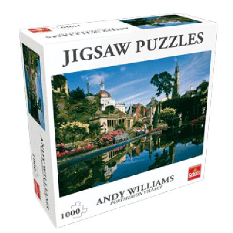 Puzzel Portmerion Village (1000 pcs)
