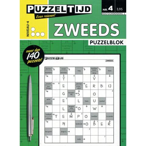 Puzzelblok zweeds 4 punt nr. 4