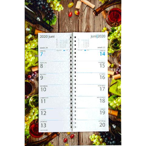 Omleg weekkalender 2020 Wijnetiket