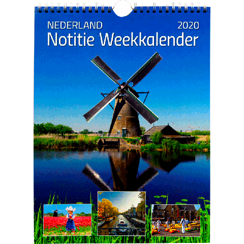 Weekkalender 2020 Holland