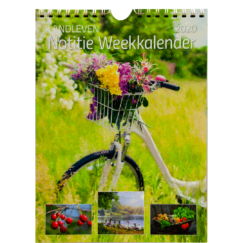 Weekkalender 2020 Landleven