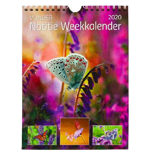 Weekkalender 2020 Vlinders