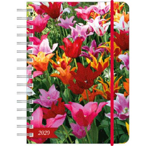 Agenda 2020 10,5 x 14,5 flowers