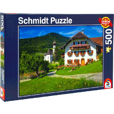 Schmidt 500 puzzel Bayern Monastery