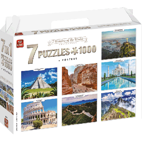 Legpuzzel 7in1 Wonders of the World (1000 stukjes)