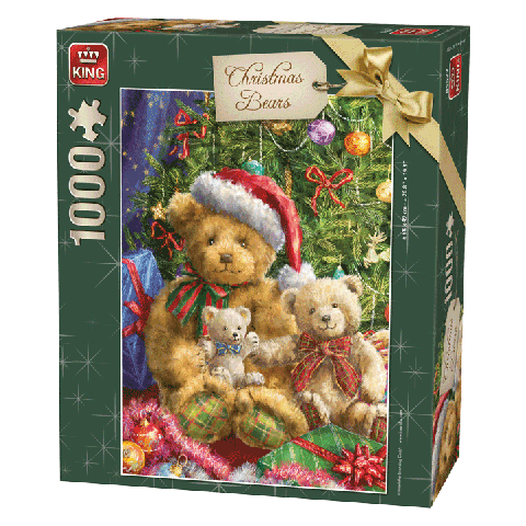 Legpuzzel Christmas Bears 1000 stukjes