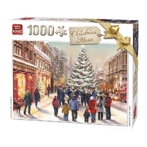 Legpuzzel Christmas music 1000 stukjes