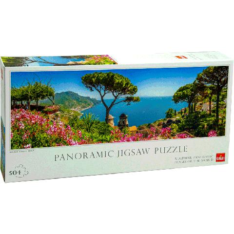 Legpuzzel Amalfi coast panorama 504pcs