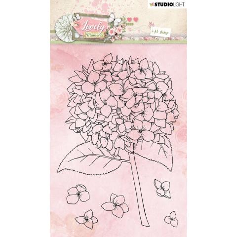 Lovely moments stempel bloem