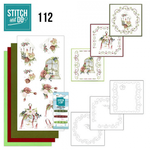 Stitch & Do nr. 112 warm kerstgevoel