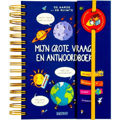 Het grote vraag en antwoordboek De aarde en de ruimte