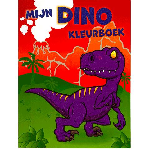 Mijn Dino Kleurboek
