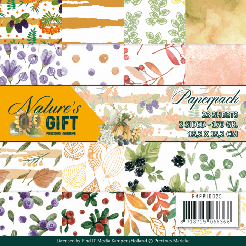 PM Nature's gift Paperpack 23 vel