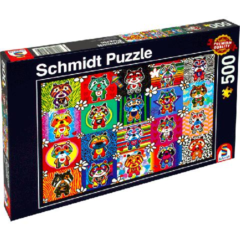 Legpuzzel 500 stukjes Tantan & Momo (Schmidt)