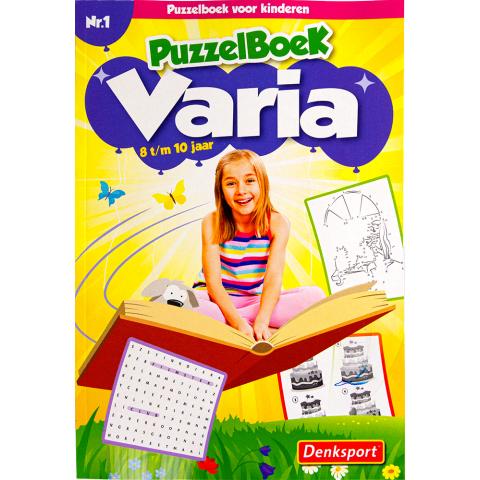 Puzzelsport Kids Varia 8-10 jaar