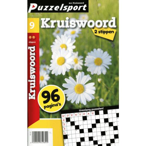 Puzzelsport 96 p. kruiswoord 2 stippen nr. 009