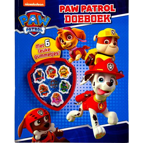Paw Patrol Doeboek