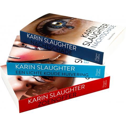 Karin Slaughter actiepakket (3 boeken)