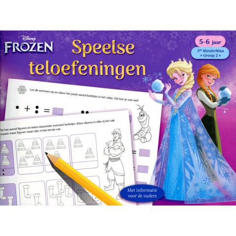 Speelse teloefeningen 5-6 jaar Frozen